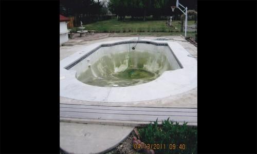 Before start of renovation