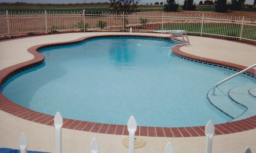 Irregular Shaped Pool
